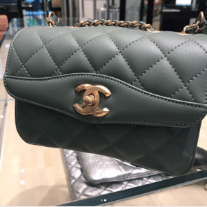 Chanel Green Daily Companion Small Flap Bag 2