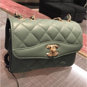 Chanel Green Daily Companion Small Flap Bag