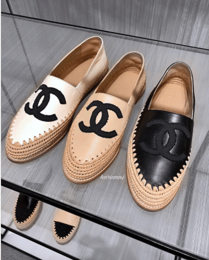 1a33d37cee7 Chanel Cruise 2018 Espadrilles
