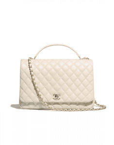 Chanel Ivory Citizen Chic Medium Flap Bag