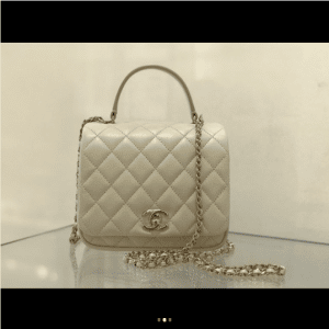 Chanel Ivory Citizen Chic Mini Flap Bag