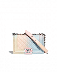 Chanel Multicolor Boy Chanel Rainbow Small Flap Bag