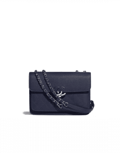Chanel Navy Blue Urban Companion Mini Flap Bag