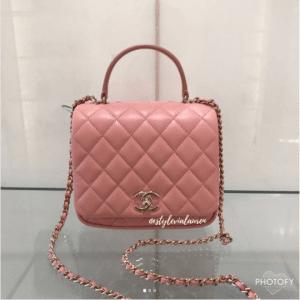 Chanel Pink Citizen Chic Mini Flap Bag 2