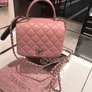 Chanel Pink Citizen Chic Mini Flap Bag 3