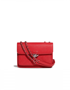 Chanel Red Urban Companion Mini Flap Bag