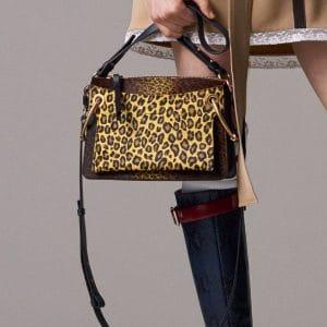 Chloe Leopard Print Roy Bag - Pre-Fall 2018