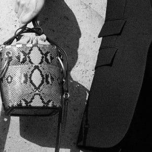 Chloe Python Bucket Bag - Pre-Fall 2018