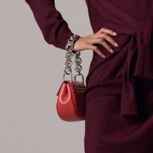 Chloe Red Quilted Drew Bijou Bag - Pre-Fall 2018