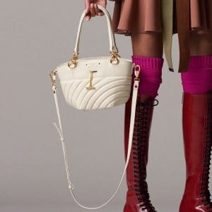 Chloe White Quilted Small Tote Bag - Pre-Fall 2018