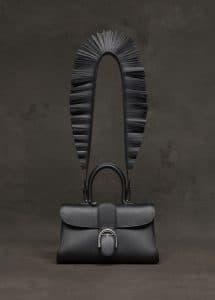 Delvaux Black East/West Brillant Bag