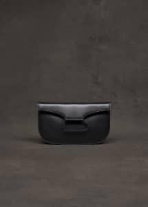 Delvaux Black Pouch Bag