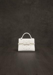 Delvaux Ivory Tanzania Tempete Mini Bag