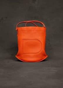 Delvaux Paprika Taurillon Soft Pin Bag