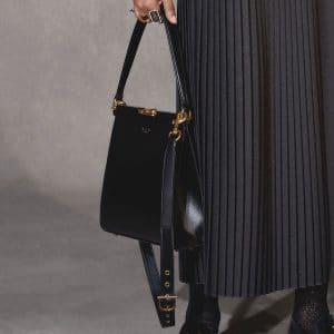 Dior Black Clasp Shoulder Bag - Pre-Fall 2018
