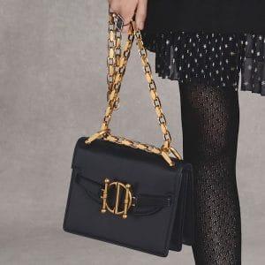 Dior Black Flap Bag - Pre-Fall 2018