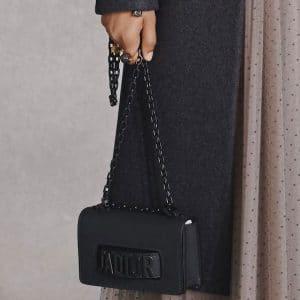 Dior Black J'adior Flap Bag - Pre-Fall 2018