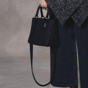 Dior Black Studded Lady Dior Bag 2 - Pre-Fall 2018