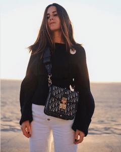 Dior Blue Oblique Canvas Dioraddict Square Flap Bag 2