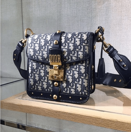 24040f8ae Small Dioraddict Flap Bag In Dior Oblique Canvas Price | Stanford ...