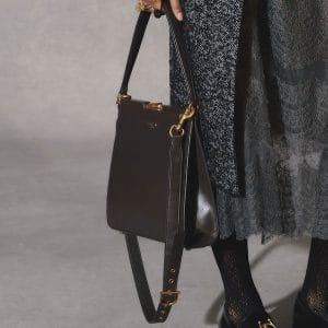 Dior Brown Clasp Shoulder Bag - Pre-Fall 2018