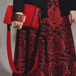 Dior Red Dio(r)evolution Flap Bag - Pre-Fall 2018
