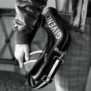 Givenchy Black/White Messenger Bag 3 - Pre-Fall 2018