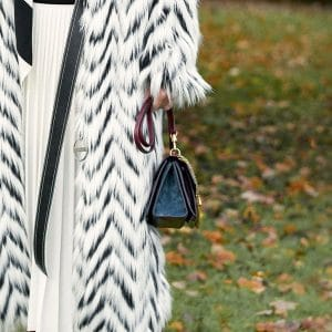 Givenchy Blue/Burgundy Flap Bag - Pre-Fall 2018