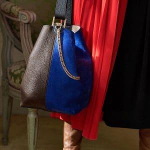 Givenchy Brown/Blue/Black GV3 Bucket Bag - Pre-Fall 2018