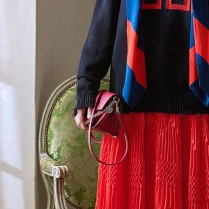 Givenchy Red Flap Bag 2 - Pre-Fall 2018