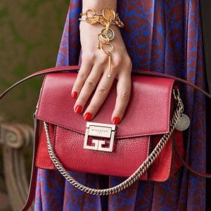 Givenchy Red Flap Bag - Pre-Fall 2018