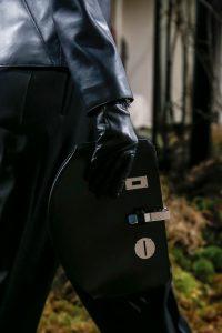 Hermes Black Bâton de Craie Clutch Bag - Pre-Fall 2018