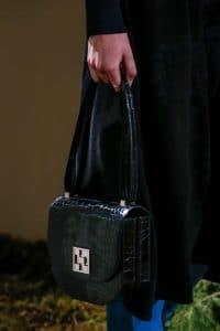 Hermes Black Crocodile Saddle Bag - Pre-Fall 2018