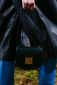 Hermes Black Saddle Bag - Pre-Fall 2018