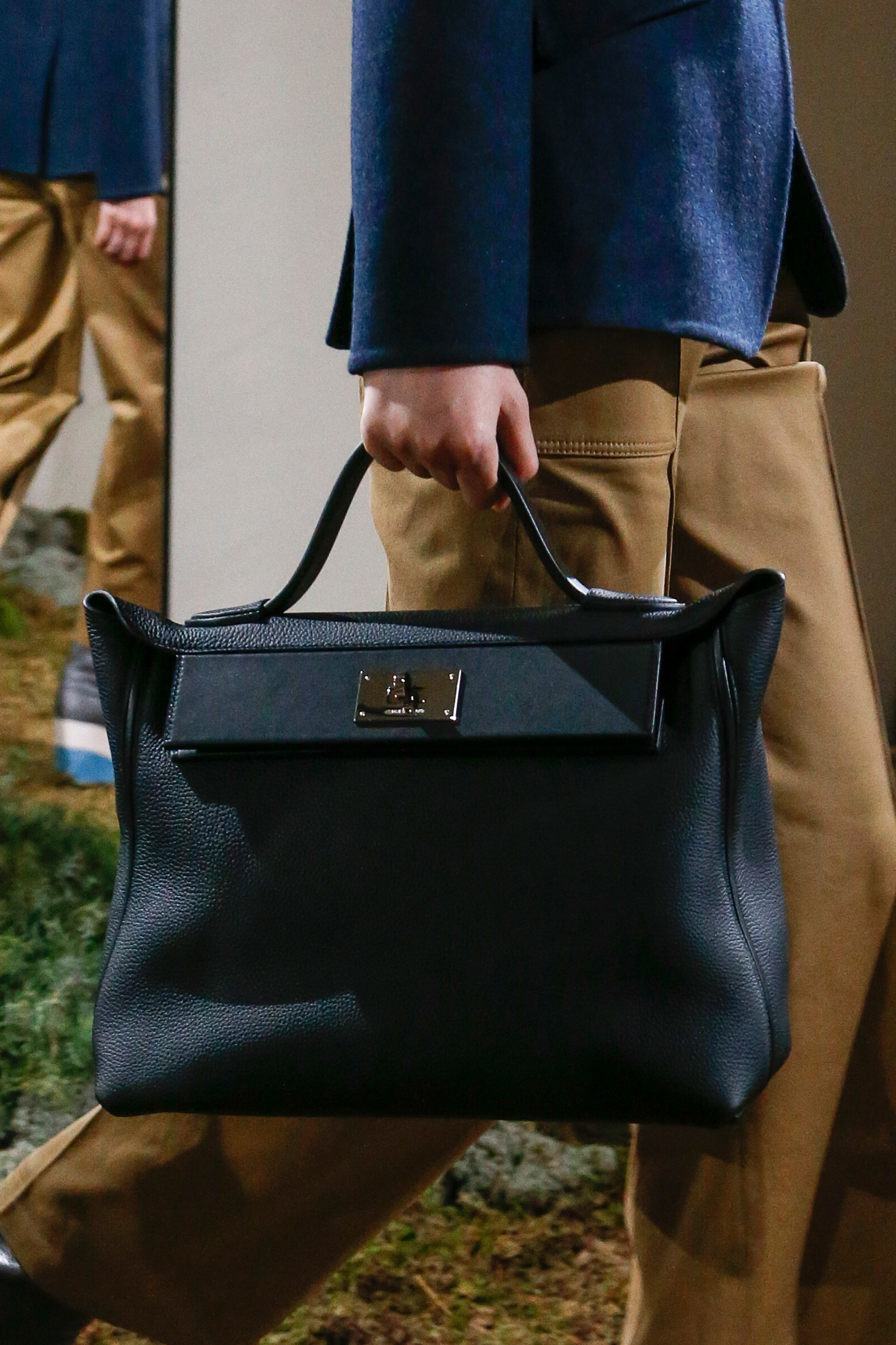 Hermes Black Top Handle Bag Pre Fall 2018