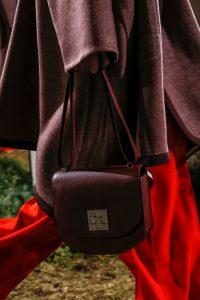 Hermes Burgundy Saddle Bag 2 - Pre-Fall 2018