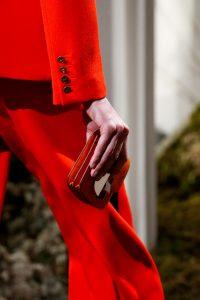 Hermes Red Ostrich 2002 Mini Clutch Bag - Pre-Fall 2018