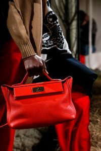 Hermes Red Top Handle Bag - Pre-Fall 2018