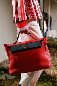Hermes Red/Black Top Handle Bag - Pre-Fall 2018