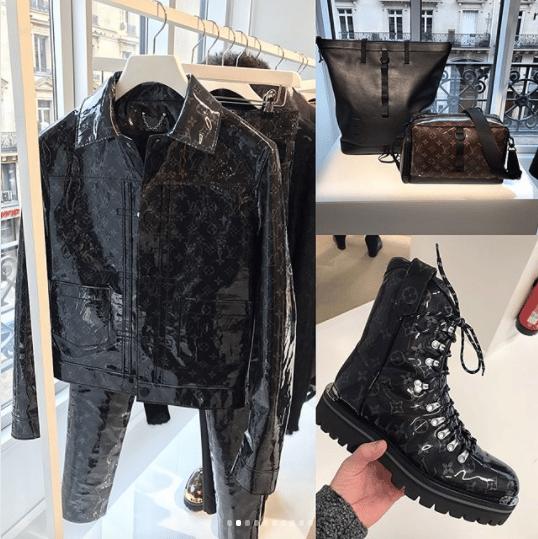 3e6646fe06f Louis Vuitton Black Monogram Jacket and Boots - Fall 2018. IG  areesshant 93