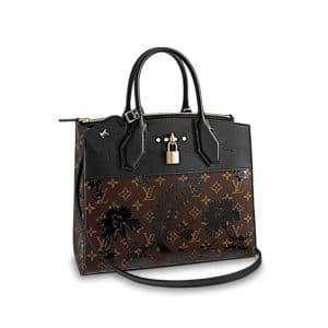 Louis Vuitton Monogram Blossom City Steamer Bag