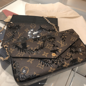 Louis Vuitton Monogram Blossom Pochette Félicie Bag 2