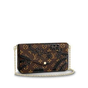 Louis Vuitton Monogram Blossom Pochette Félicie Bag