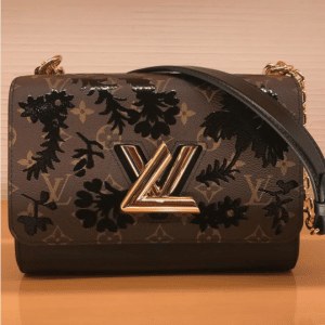 Louis Vuitton Monogram Blossom Twist MM Bag 2