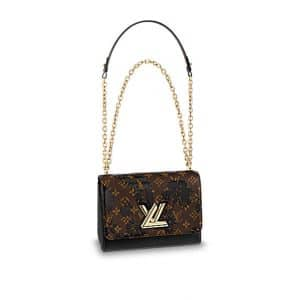 Louis Vuitton Monogram Blossom Twist MM Bag