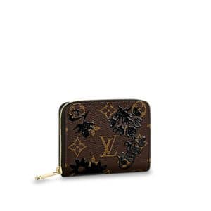 Louis Vuitton Monogram Blossom Zippy Coin Purse