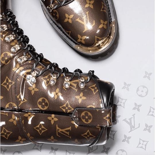 d1d6a19283ec Louis Vuitton Monogram Canvas Boots - Fall 2018. IG  domothehairdivo