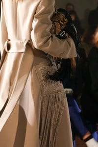 Proenza Schouler Black/Tan Python Fringed Hava Chain Shoulder Bag - Fall 2018