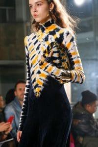 Proenza Schouler Blue/Yellow Tie-Dye Clutch Bag - Fall 2018