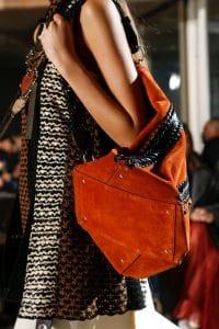 Proenza Schouler Tan Suede Backpack Bag - Fall 2018
